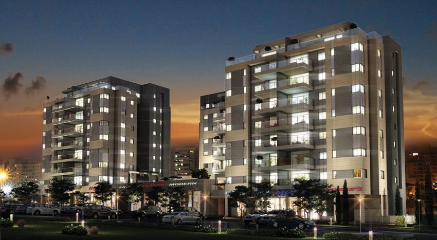 מגדלי K אשדוד - דירות יוקרתיות במחירים אטרקטיבים